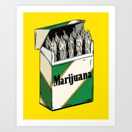 Mainstream Marijuana Art Print