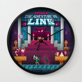The Link Adventure of Zelda, too Wall Clock