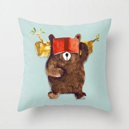 No Care Bear - My Sleepy Pet Throw Pillow