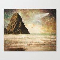 interstellar Canvas Prints featuring Interstellar by Jenndalyn
