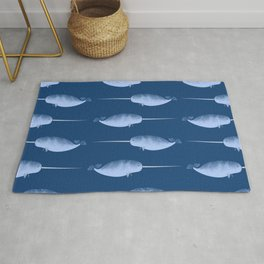 Narwhals are the Unicorns of the Sea Rug