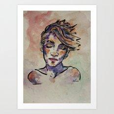 Elly Art Print
