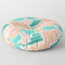 Dawnscape - Grey Floor Pillow