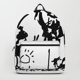 Pablo Picasso Don Quixote 1955 Artwork Shirt, Reproduction Backpack