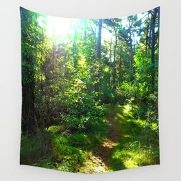 Sunshine Forest II Wall Tapestry