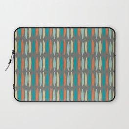 Contemporary Mid-Century Modern Geometric Pattern Laptop Sleeve