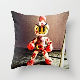 Bomberman Throw Pillow