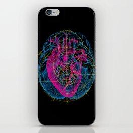 Heart and Brain iPhone Skin