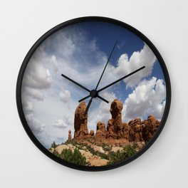 Parade Of the Elephants Wall Clock