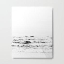 Ocean Minimalist Metal Print