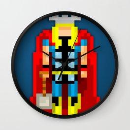 PixelWorld vol. 1 | Thor Wall Clock