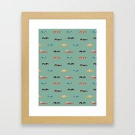 Racers Framed Art Print
