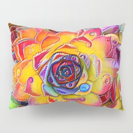 Succulent Madness Pillow Sham