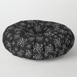 A million atoms | Atom art work | Science design | Scientific | Science decor | Universe Floor Pillow