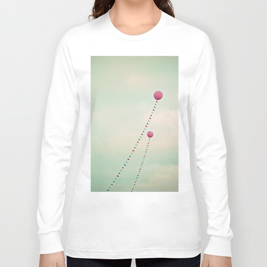 Whimsical Balloons Long Sleeve T-shirt