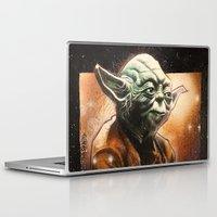yoda Laptop & iPad Skins featuring Yoda by calibos
