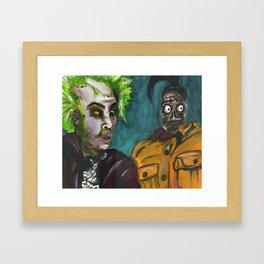 Can You Belive This? / Beetlejuice Framed Art Print