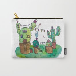 Cactus Village Carry-All Pouch