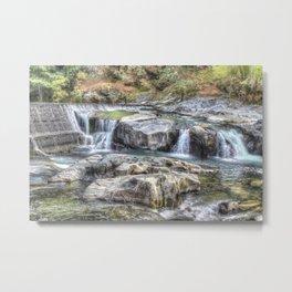 Tiger Creek in Fall #1 Metal Print