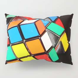 Rubik's cube Pillow Sham