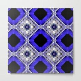Purple Passion Pattern 2 Metal Print