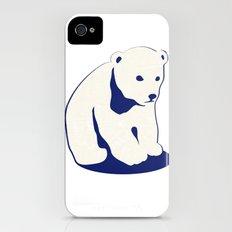 Polar bear Slim Case iPhone (4, 4s)