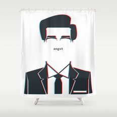 angst Shower Curtain