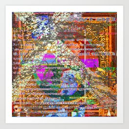 Small Coincidences and Bubblewrap [A Brand New Experiment Series] Art Print