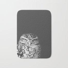 grumpy owl Bath Mat