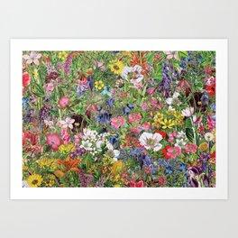 Botanical Bloom Nature Wildflower Kunstdrucke