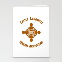 the big lebowski Stationery Cards featuring Little Lebowski Urban Achievers  |  The Big Lebowski by Silvio Ledbetter