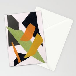 Abstract multicolor ing Stationery Cards