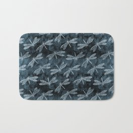 Rainy Day Dragonflies Bath Mat