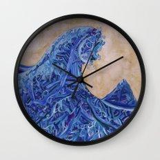 Kanagawa Wall Clock