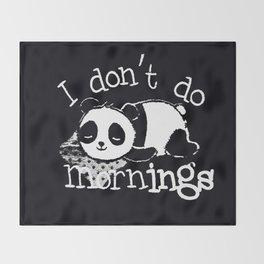 Panda #1 Throw Blanket