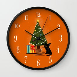 Christmas 2017 Wall Clock