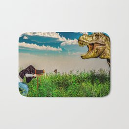 Wildlife Photographer Photo Bomb Bath Mat