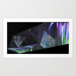 refraction Art Print