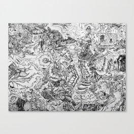 Run Free Canvas Print