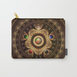 Gathering the Five Fractal Colors of Magic Carry-All Pouch