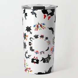 Rorschach test subjects' perceptions of inkblots psychology   thinking Exner score Travel Mug