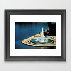 The Fountain at The Point Framed Art Print