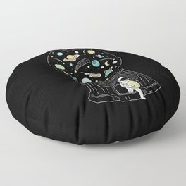 My Childhood Universe 2 Floor Pillow