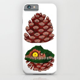 Home Sweet Pinecone iPhone Case