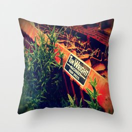 ART OF THE MACHINE. Throw Pillow
