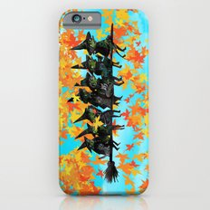 Seven Witches on a Broom.  Slim Case iPhone 6s