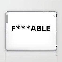 F***able Black Laptop & iPad Skin
