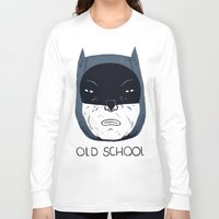 old school Long Sleeve T-shirts featuring old school by Louis Roskosch