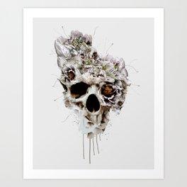 Skull Castle II Art Print