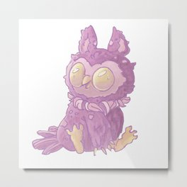 My Friend Owl Metal Print